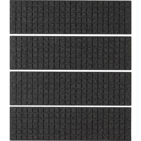 Set of 4 Thirsty Squares ® Charcoal Stair Treads