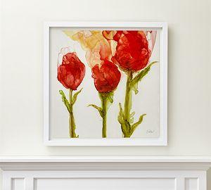 Three Tulips Print
