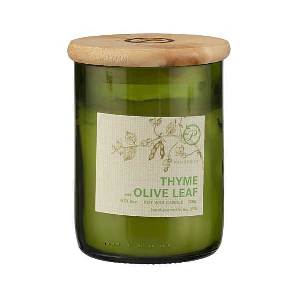 Thyme and Olive Leaf Candle