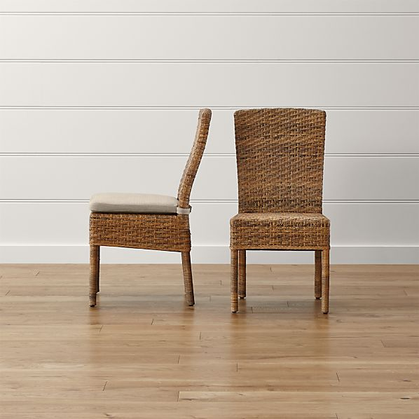 Tigris Dining Chair and Natural Cushion