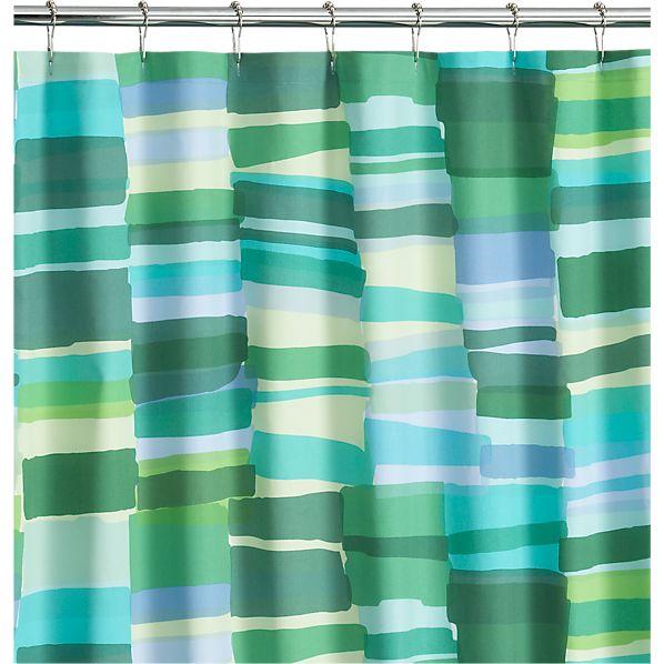 Tilkkula Seaglass Shower Curtain