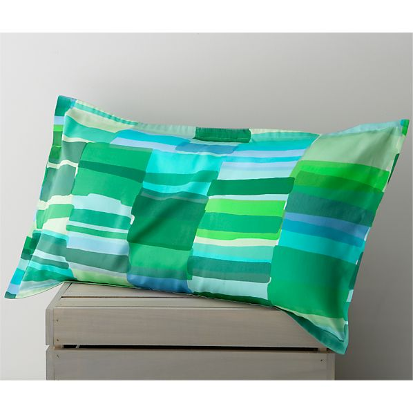Marimekko Tilkkula Seaglass King Pillow Sham