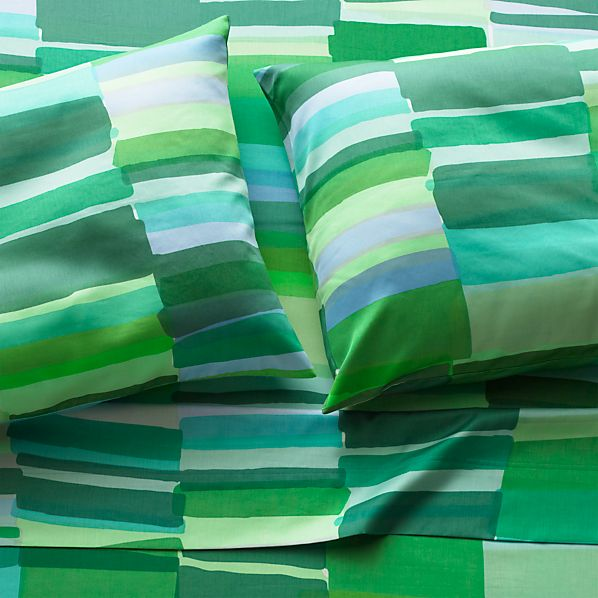 Marimekko Tilkkula Seaglass Full Sheet Set