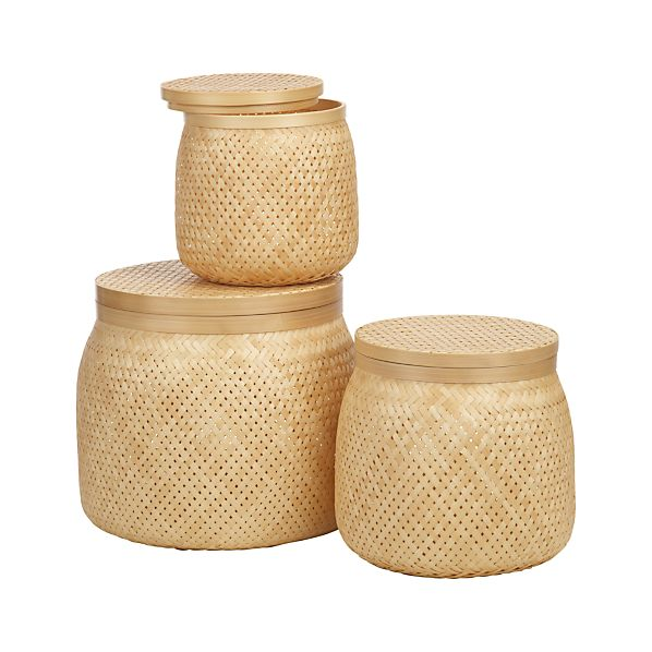 Set of 3 Timaru Baskets