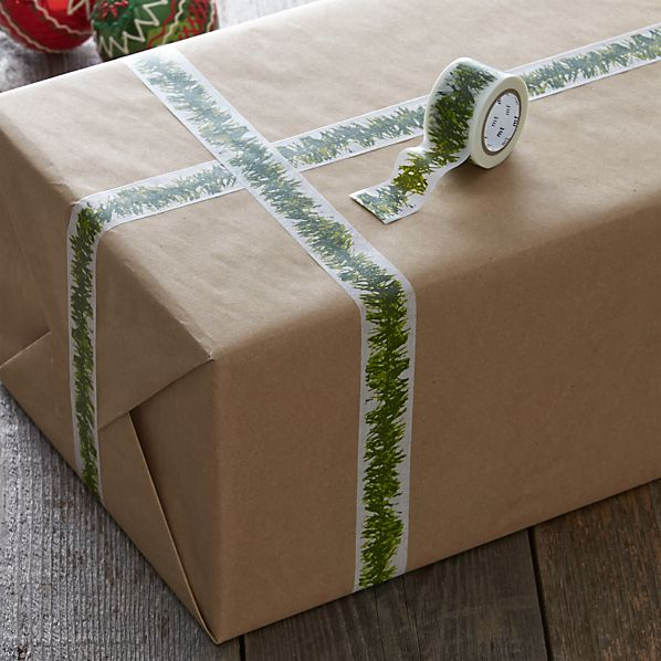 Green and White Tinsel Tape