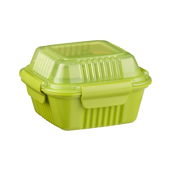 Small Green To-Go Container