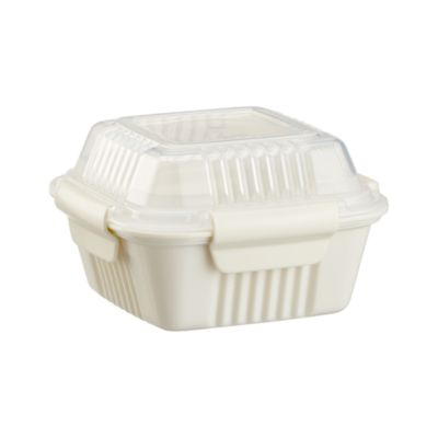 Small White To-Go Container