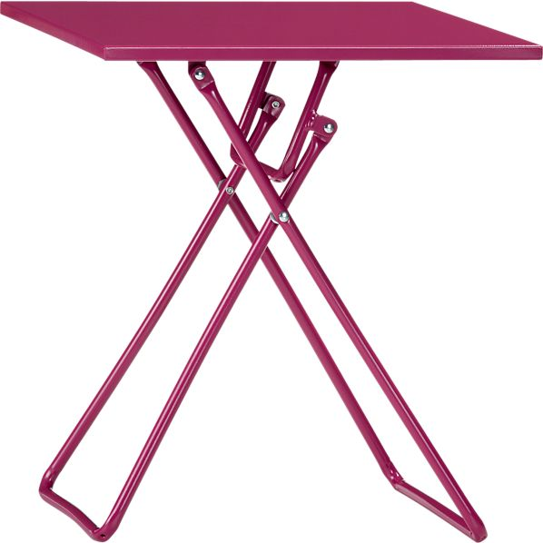 To-Go Berry Folding Side Table
