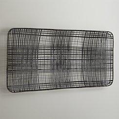 Tobacco Basket Metal Wall Art