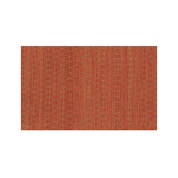 Tochi Coral Orange 5'x8' Rug