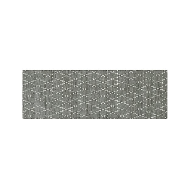 Tochi Grey 2 5 X7 Rug Runner Crate And Barrel
