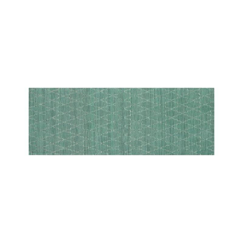 Tochi Robin Blue 2.5'x7' Rug Runner