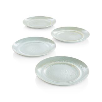 Set of 4 Tola Dinner Plates