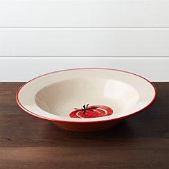 Tomato Pasta Serving Bowl