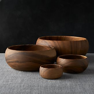 "Tondo 3.75""-10.5"" Bowls"