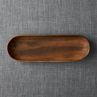 "Tondo 16.5""x5.5"" Oval Platter"