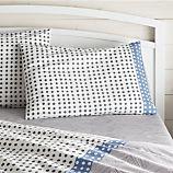 Torben Blue Standard Pillow Sham