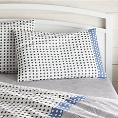Torben Blue Standard Pillow Sham