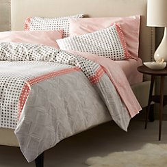 Torben Coral Twin Duvet Cover