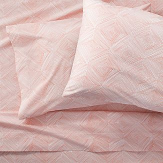 Torben Coral Sheet Sets