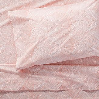 Torben Coral Twin Sheet Set