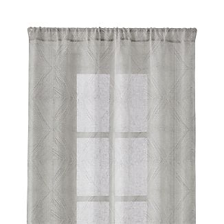 "Torben Grey 48""x108"" Curtain Panel"