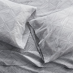 Crate And Barrel Decorative Pillow Cases : Torben Grey Sheets and Pillow Cases Crate and Barrel