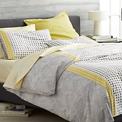 Torben Yellow Twin Duvet Cover