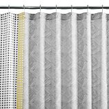 Torben Yellow Shower Curtain