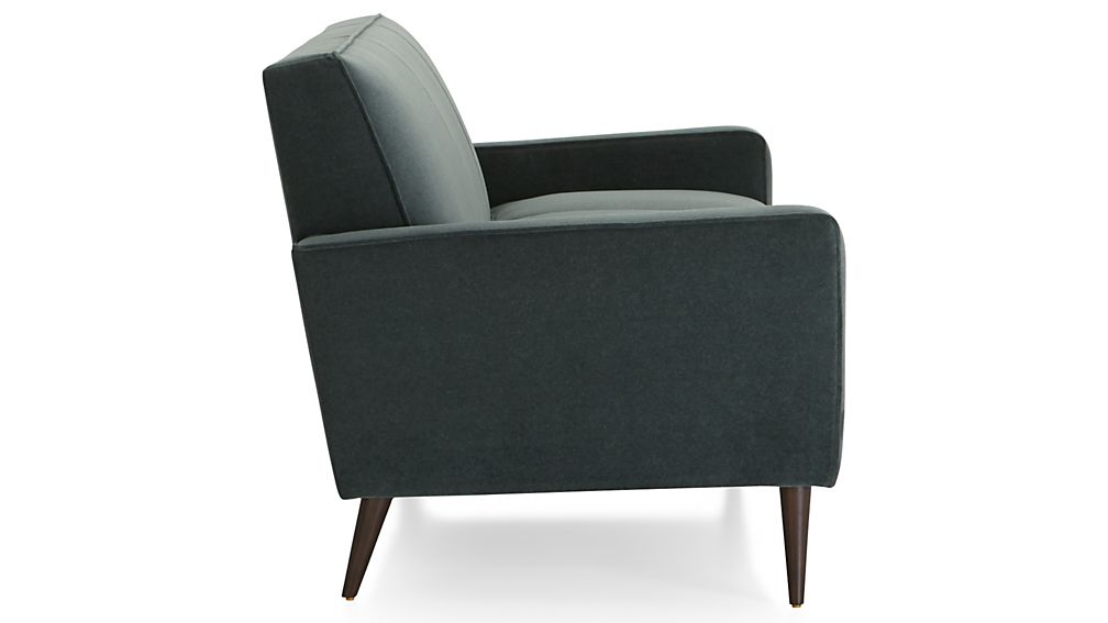 Torino Velvet 3-Seat Sofa