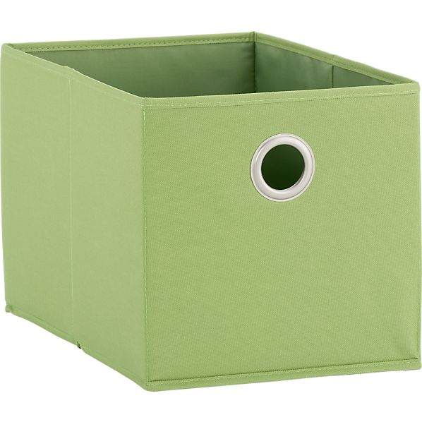 Small Green Tote with Grommet