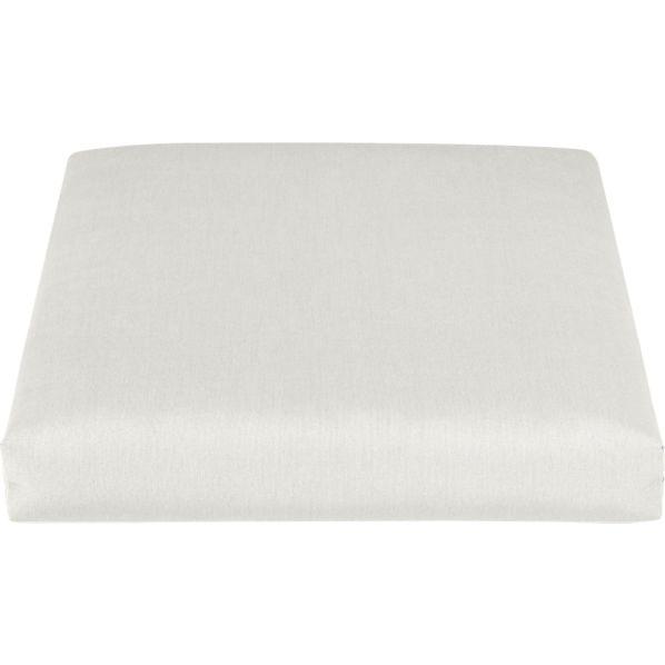 Toulon Sunbrella ® White Sand Lounge Chair Cushion