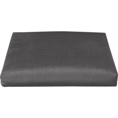 Toulon Sunbrella® Charcoal Ottoman Cushion