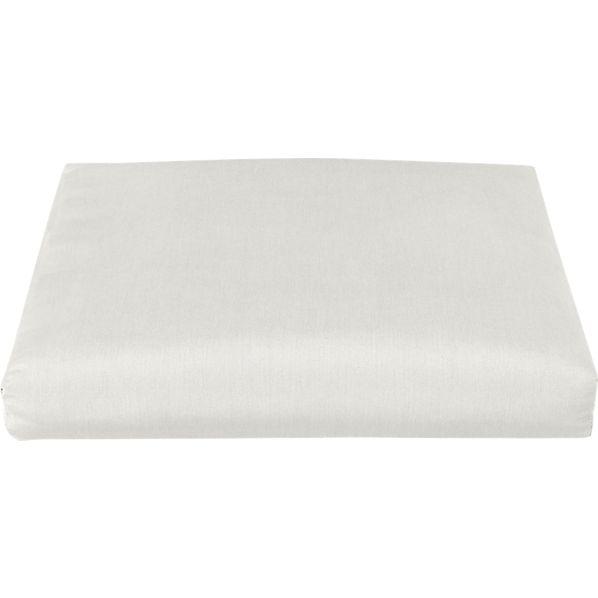 Toulon Sunbrella ® White Sand Ottoman Cushion