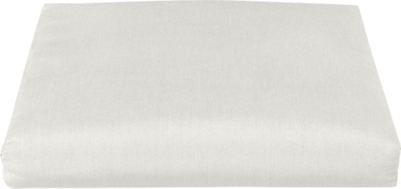 Add extra comfort to our Toulon ottoman with fade-, water- and mildew-resistant Sunbrella® acrylic cushions in warm white sand.<br /><br /><NEWTAG/><ul><li>Fade- and mildew-resistant Sunbrella® acrylic</li><li>100% polyester fill</li><li>Fabric tab fasteners</li><li>Cover or store inside during inclement weather</li><li>Spot clean</li><li>Made in USA</li></ul>