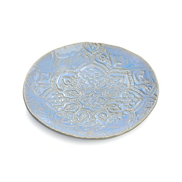 "Jars Toulouse Blue 9.5"" Plate"