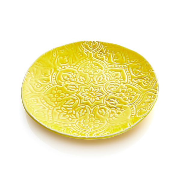 "Jars Toulouse Yellow 9.5"" Plate"