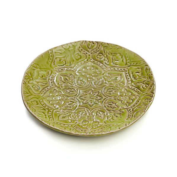 "Jars Toulouse Green 9.5"" Plate"