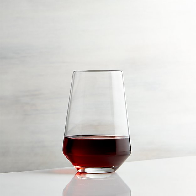 Tour stemless wine glass crate and barrel - Stemless wine goblets ...