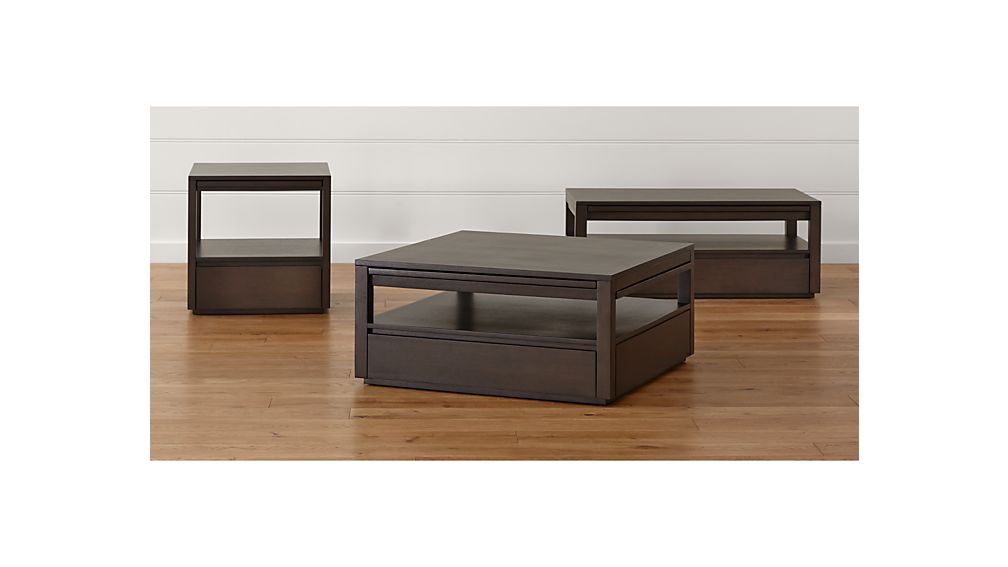 Tourney Rectangular Coffee Table Crate And Barrel