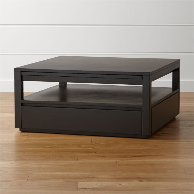 Off Crate And Barrel Crate Barrel Square Coffee Table: Tourney Square Coffee Table