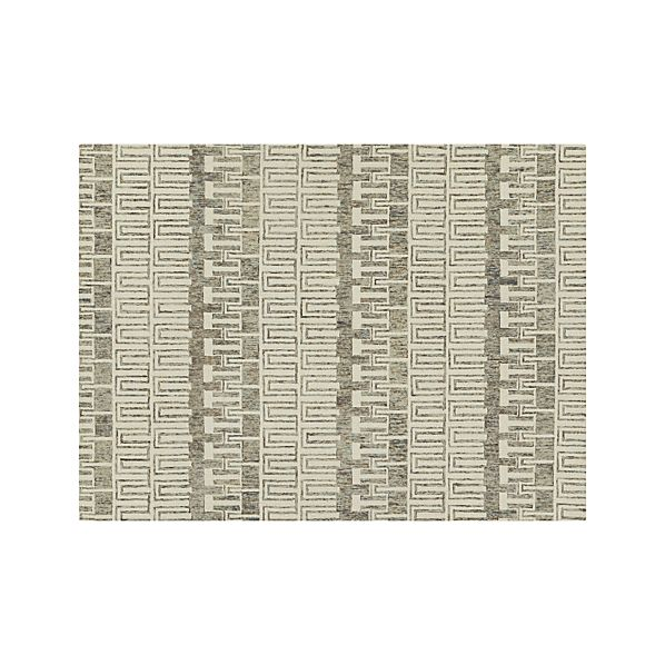 Tower Neutral Wool 9'x12' Rug