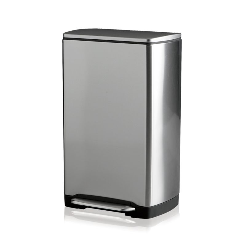 simplehuman ® 38-Liter/10-Gallon Stainless Steel Step Kitchen Trash Can
