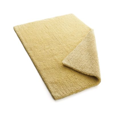 Traverse Reversible Yellow Bath Rug