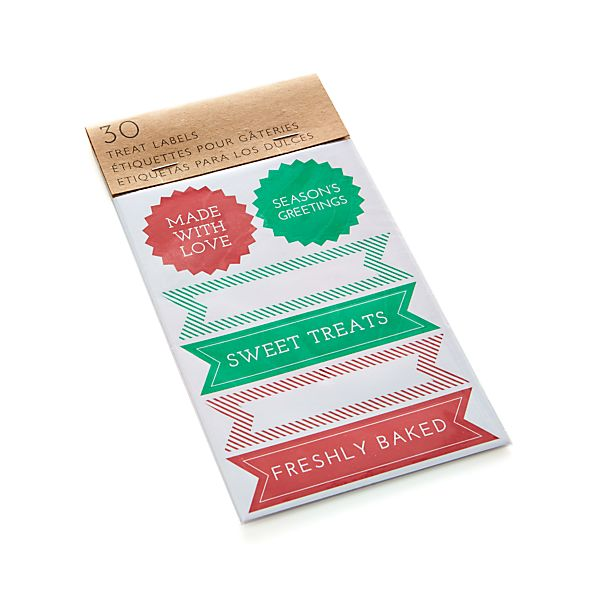 30-Piece Treat Label Set