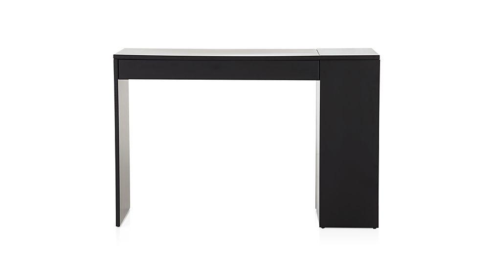 Treble Black Desk