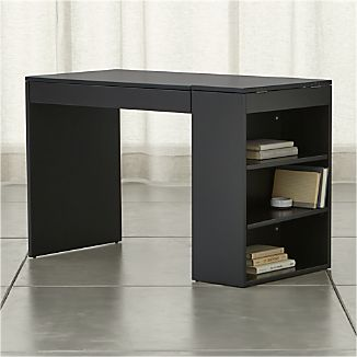 Treble Black Desk