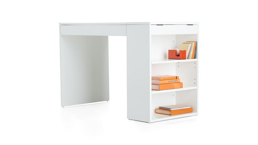 Treble White Desk Crate And Barrel