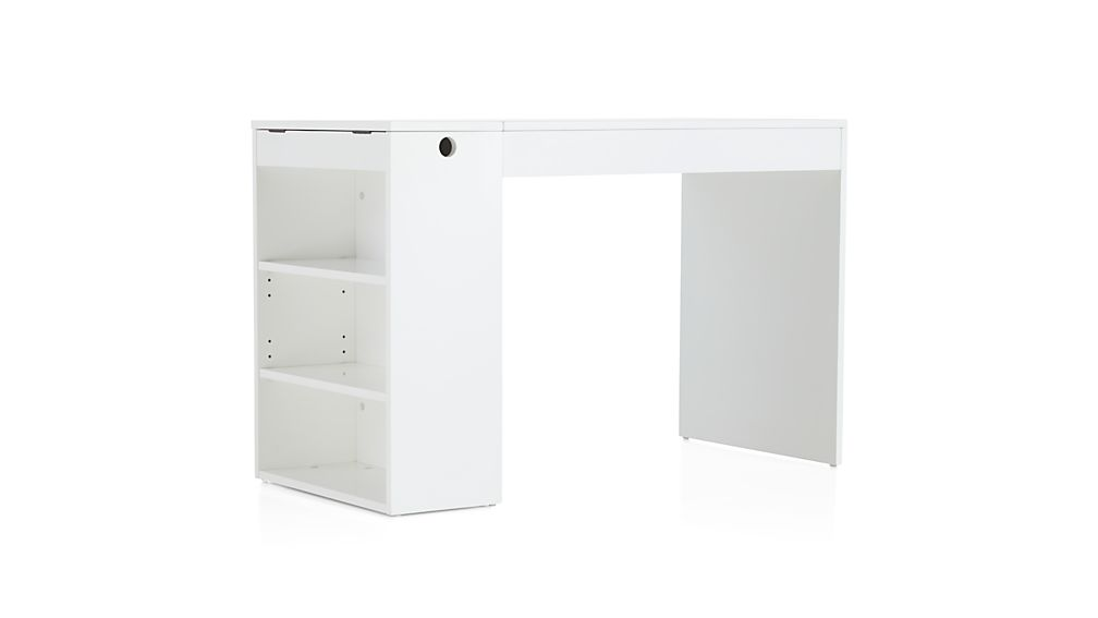 Treble White Desk