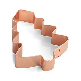 Copper Tree Cookie Cutter